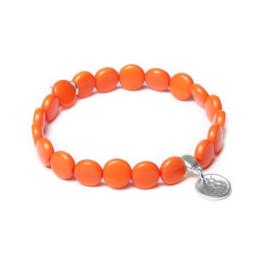 Speelse Oranje Armband van BIBA