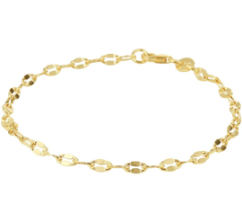 Gouden Enkelbandje 3,0 mm Lengte 24 cm