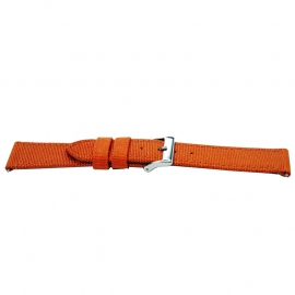 Horlogeband F830 Nylon Oranje 18x16 mm