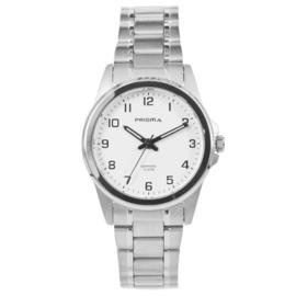 Sportief Titanium Dames Horloge met Witte Wijzerplaat van Prisma