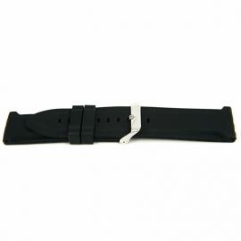 Horlogeband XG15 Silicon 924 Zwart 20mm