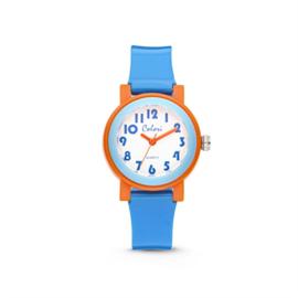 Blauw met Oranje Kids Horloge van Colori Junior