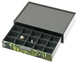 Groene Glamour Box met 20 vakjes van Davidts