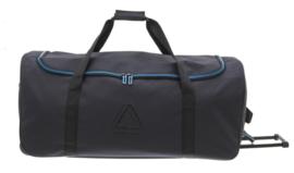 Zwart met Blauwe Charter Bag van Davidts Rapid Air