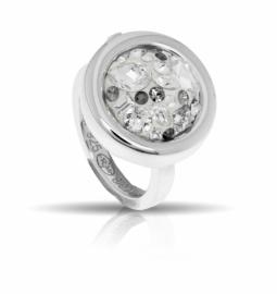 Zilveren MY iMenso munt ring
