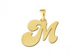 Names4ever Speelse Letter Hanger van Goud