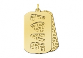 Names4ever Naampatroon Love Dog Tag GNH13