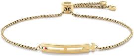 Goudkleurige Dames Armband van Edelstaal van Tommy Hilfiger