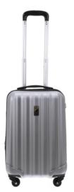 Zilverkleurige Medium ABS Cabin Case van Davidts