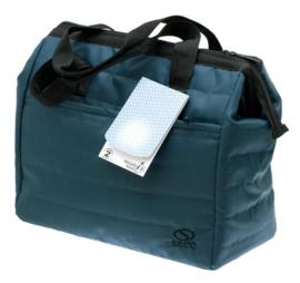 Turquoise Tiksi Shopping Tas van Davidts 70611019
