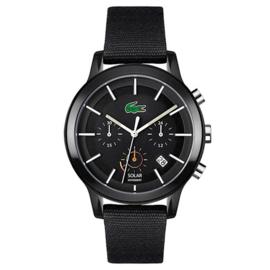 Lacoste 12.12 SOLAR Zwarte Horloge Heren LC2011115