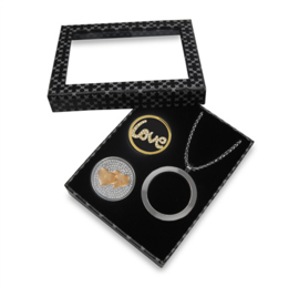 Zilverkleurige LOCKits 33mm Gift Set