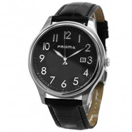 Prisma Horloge P.2631 Heren Sport Edelstaal