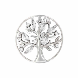 MY iMenso Tree of Life Deluxe Zilveren 33mm Insignia