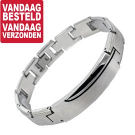 Dark Curves Bracelet » Armbanden voor Mannen - Graveer sieraad