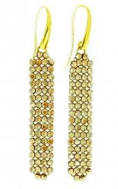 Stijlvolle Goudkleurige Oorhangers van Spark Jewelry