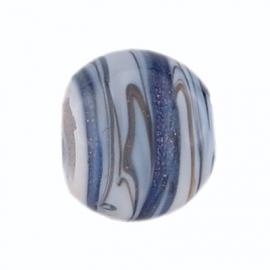 Blauwe Streepjes Murano Bedel van BE iMenso 32/31