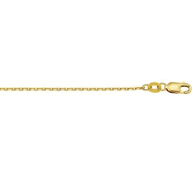 9 Karaats Collier Anker 1,3 mm / 50cm