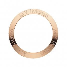 Quartz MY iMenso Roségouden Bezel + MY iMenso Logo