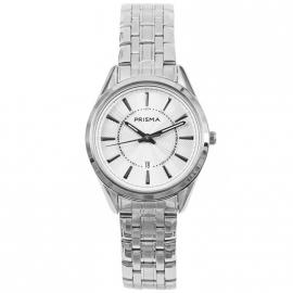 Prisma Horloge P.1706 Horloge Edelstaal 5 ATM