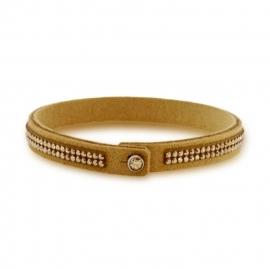 Tennis Doble Swarovski Beige Armband van Spark Jewelry