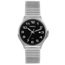 Edelstalen Heren Horloge van Prisma met Rekband P.1686.54VG