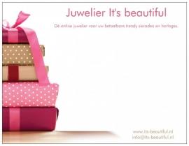 Roze Cadeautjes - Handgeschreven Kaartje