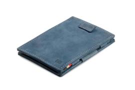 Saffier Blauwe Magic Wallet Portemonnee van Cavare Garzini