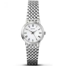 Klassiek Zilverkleurig Dames Horloge met Zilverkleurige Band