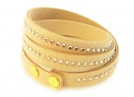 Luxueuze Goudkleurige Armband van Spark Jewelry