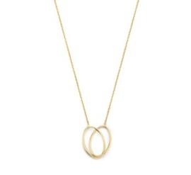 Gouden Collier Ovaal 1,2 mm 42 - 44 cm