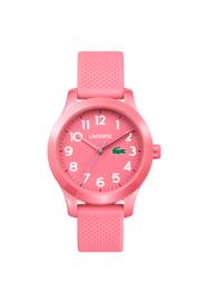 Lacoste Roze Kids Horloge met Roze Silicone Horlogeband