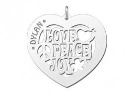 Names4ever Love Peace Joy Harthanger ZNH40