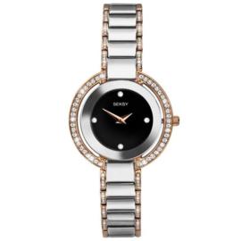 Sekonda Zilverkleurig SEKSY Dames Horloge met Zirkonia's