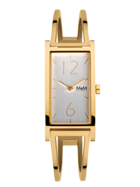 M&M Goudkleurig Horloge voor Dames