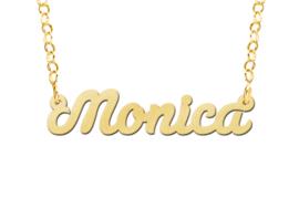 Names4ever Gouden Model Monica Naamketting GNK57