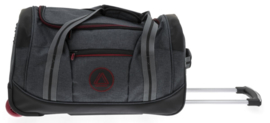 Donkergrijze Charter Bag van Davidts Travel in Grey