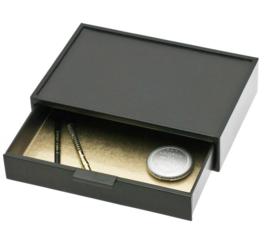 Zwarte Make-Up Glamour Box van Davidts