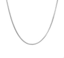 Zilveren Collier Venetiaans bol 1,6 mm 50 cm | Sale Kettingen