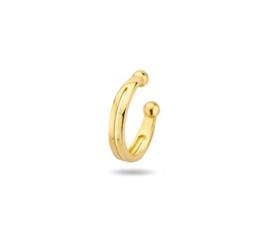 14k Massief Gouden Ear Cuff