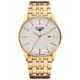 Goudkleurig Diomedes Heren Horloge van Elysee