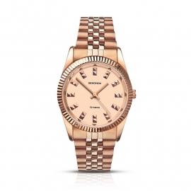 Roségoudkleurige Sekonda Dames Horloge 2068