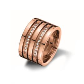 Roségoudkleurige Ring van Tommy Hilfiger TJ2701028C