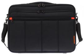 Zwarte 18'' Laptop Tas van Davidts