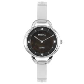 Klassiek Edelstalen Zilverkleurig Dames Horloge