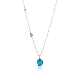 Turquoise Pendant Necklace van Ania Haie