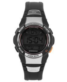 Hiker Digitaal Cool Watch Horloge met Zwarte Silicone Horlogeband