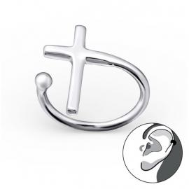 Zilveren Kruis Ear Cuff 22162