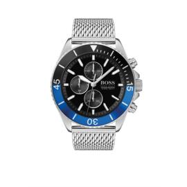 Hugo Boss Horloge Ocean Edition Horloge met Milanese Horlogeband van Boss