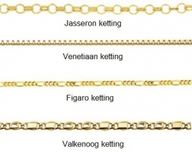 Names4ever Infinity Initialen Hanger van Goud